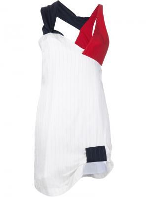 Платье La doublure Jacquemus. Цвет: белый