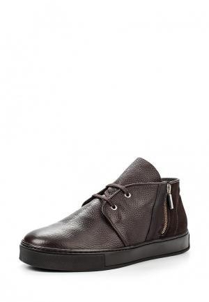 Ботинки Guardiani Sport. Цвет: коричневый