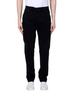 Повседневные брюки RANSOM. Цвет: черный