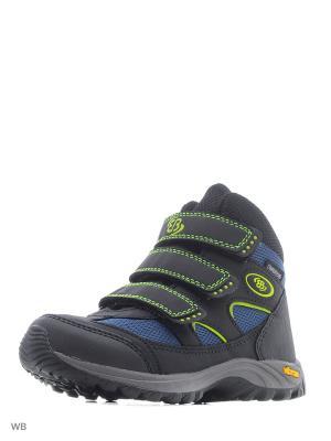 Ботинки EB Kids. Цвет: черный, голубой, желтый
