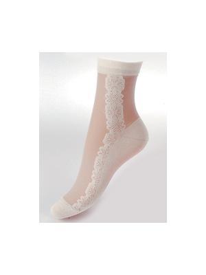 Носки женские М 1074 Грация. Цвет: белый