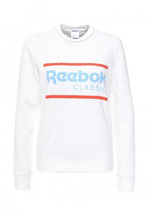 Свитшот Reebok Classics. Цвет: белый