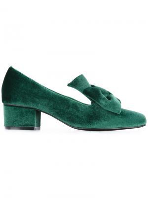 Туфли-лодочки Lady Love Macgraw. Цвет: зелёный