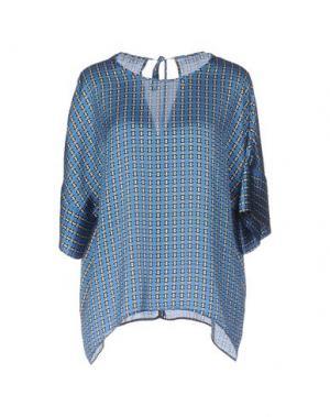 Блузка PIU' &. Цвет: синий