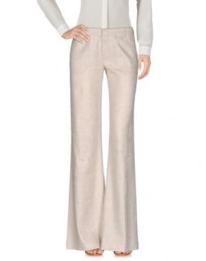 Повседневные брюки KRISTINA TI. Цвет: бежевый