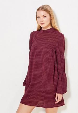 Платье LOST INK. Цвет: бордовый