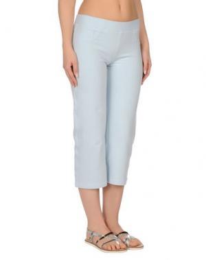 Пляжные брюки и шорты BLUMARINE BEACHWEAR. Цвет: небесно-голубой