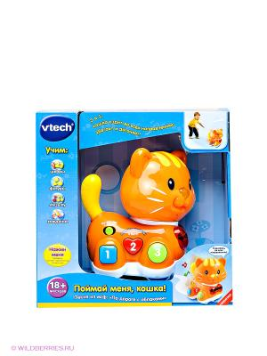 ИгрушкаПоймай меня кошка Vtech. Цвет: оранжевый