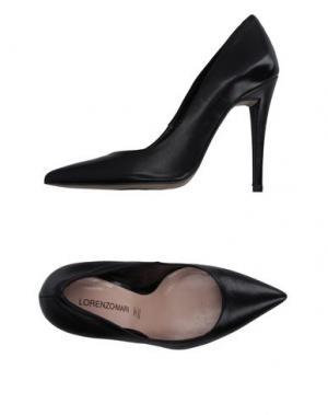 Туфли LORENZO MARI. Цвет: черный