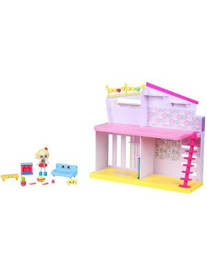 Игровой набор  Уютный Дом Moose. Цвет: розовый