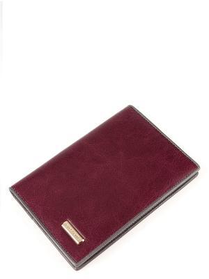 Обложка Eleganzza. Цвет: бордовый, серый