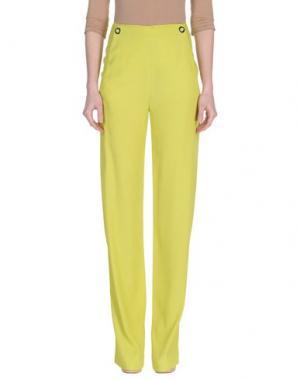 Повседневные брюки ATTIC AND BARN. Цвет: кислотно-зеленый