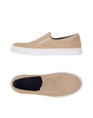 Низкие кеды и кроссовки FABIANO RICCI. Цвет: бежевый