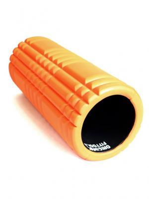 Цилиндр массажный оранжевый Original FitTools. Цвет: рыжий