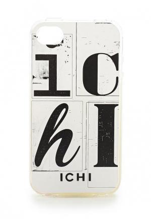 Чехол для IPhone 4/4s Ichi. Цвет: белый