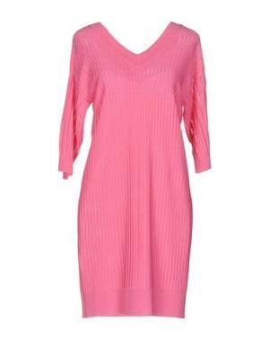 Короткое платье NEERA. Цвет: светло-фиолетовый