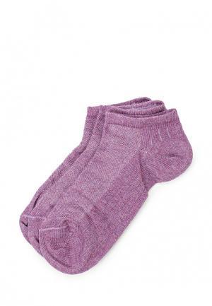 Комплект носков 3 пары Incanto. Цвет: фиолетовый