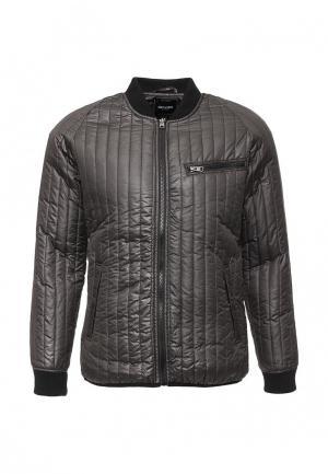 Куртка утепленная Only & Sons. Цвет: серый