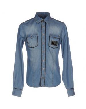 Джинсовая рубашка PHILIPP PLEIN 42582889AL