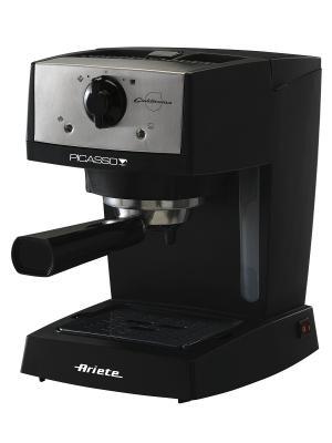 Ariete Кофеварка эспрессо 1366/10 Picasso Cialdissima. Мощность 850 Вт, 15 бар. Цвет: черный