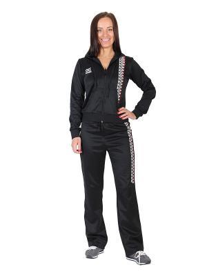 Спортивный костюм W5. Цвет: черный