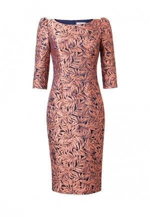 Платье Ksenia Knyazeva. Цвет: оранжевый
