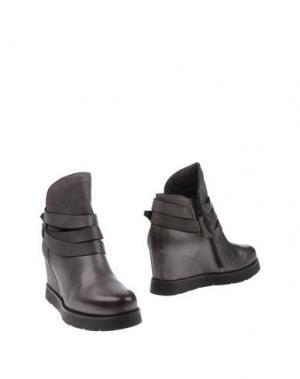 Полусапоги и высокие ботинки OVYE' by CRISTINA LUCCHI. Цвет: свинцово-серый