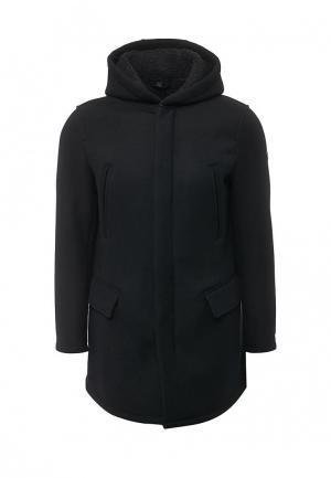 Пальто Armani Jeans. Цвет: черный