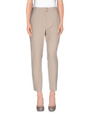Повседневные брюки KARTIKA. Цвет: голубиный серый