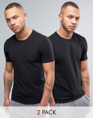Bjorn Borg 2 футболки. Цвет: белый