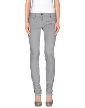 Повседневные брюки DANIELE ALESSANDRINI. Цвет: серый