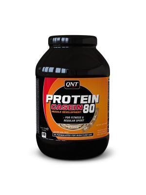 Протеин PRO 80 (капучино), 750 г QNT. Цвет: черный, оранжевый, белый