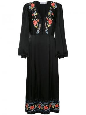 Платье Where  Wild Roses Go Alice Mccall. Цвет: чёрный