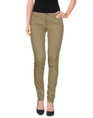 Повседневные брюки BASICON. Цвет: зеленый-милитари