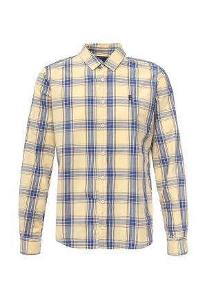 Рубашка Frank NY. Цвет: желтый