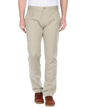 Повседневные брюки TIGER OF SWEDEN. Цвет: песочный