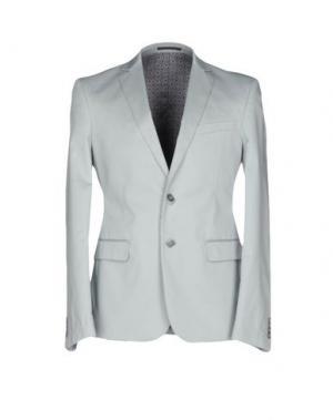 Пиджак DAVID NAMAN. Цвет: светло-серый
