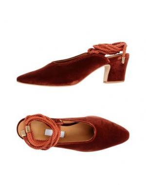 Туфли MIISTA. Цвет: ржаво-коричневый