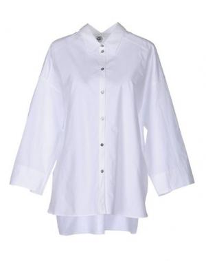 Pубашка ATTIC AND BARN. Цвет: белый