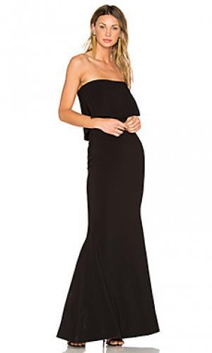 Вечернее платье driggs LIKELY. Цвет: черный