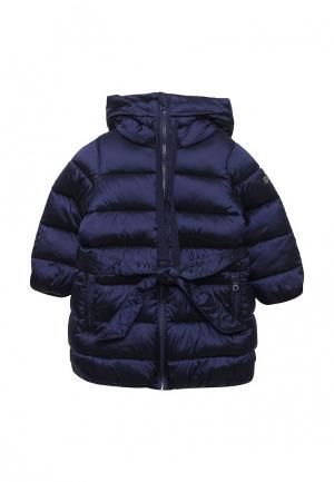 Куртка утепленная Button Blue. Цвет: синий