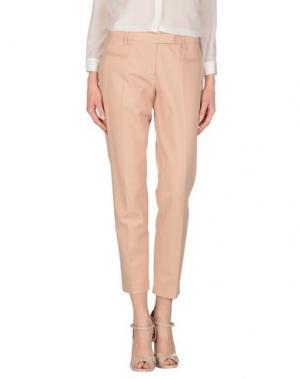 Повседневные брюки FABERGE&ROCHES. Цвет: телесный