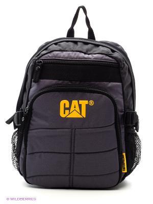 Рюкзак Caterpillar. Цвет: черный, желтый