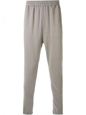 Спортивные брюки Plexus First Aid To The Injured. Цвет: серый