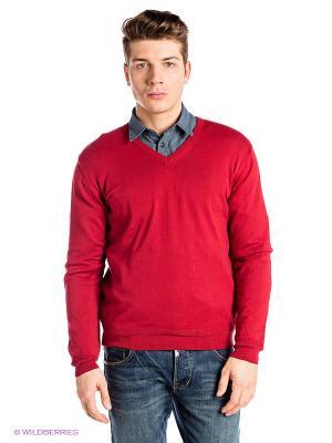 Пуловер RETIEF. Цвет: красный