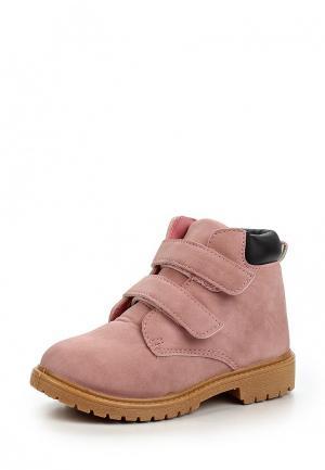 Ботинки Modis. Цвет: розовый