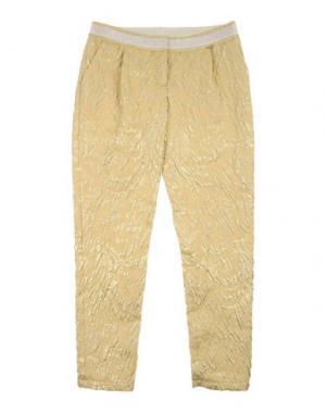 Повседневные брюки I PINCO PALLINO I&S CAVALLERI. Цвет: желтый