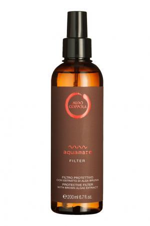 Солнцезащитный лосьон для волос Aquamare Protective Filter, 200ml Aldo Coppola. Цвет: multicolor