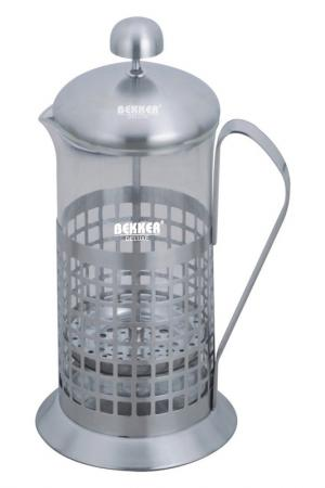 Чайник, кофейник 600 мл Bekker. Цвет: серебро