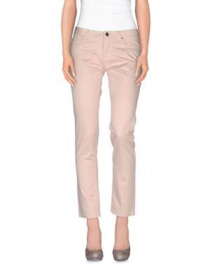 Повседневные брюки FAIRLY. Цвет: светло-розовый